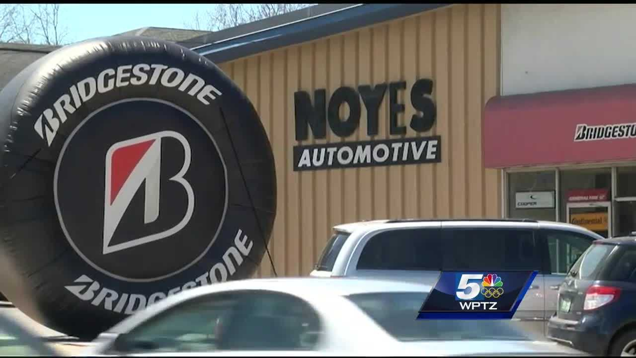 Noyes Automotive and Tire hosted a fundraiser to recycle old tires and keep them out of the environment.
