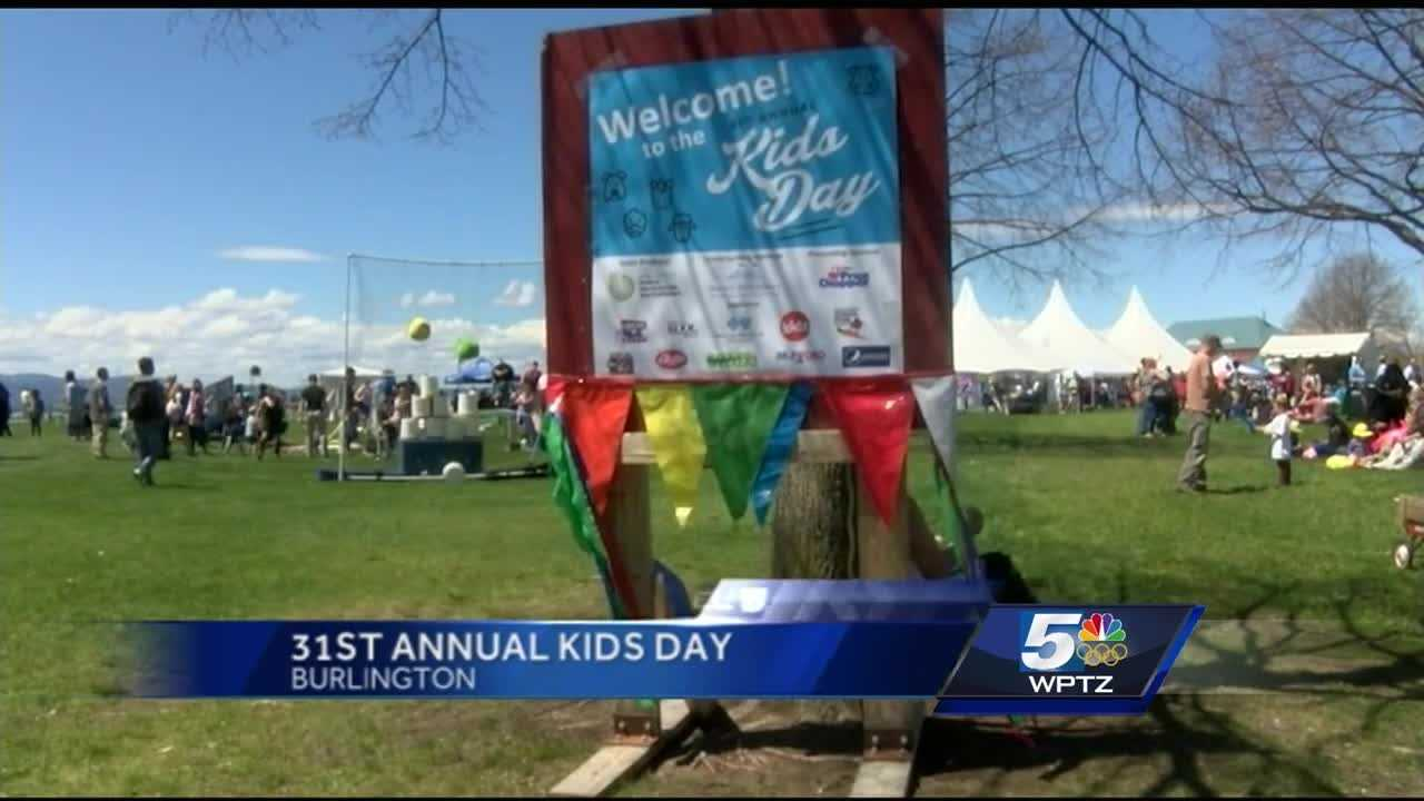 Hundreds celebrated Kids Day in Burlington Saturday