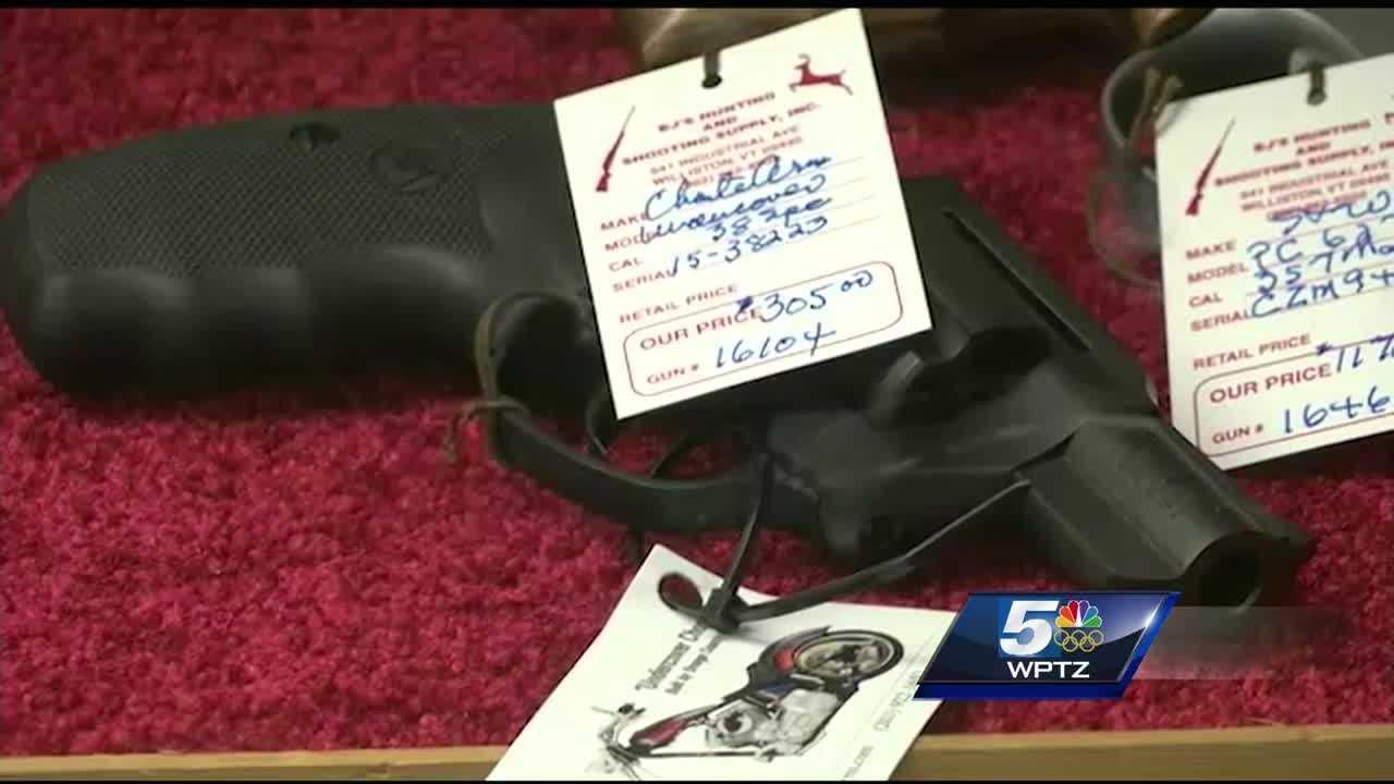 Gun dealers seek access to federal government's stolen gun database.