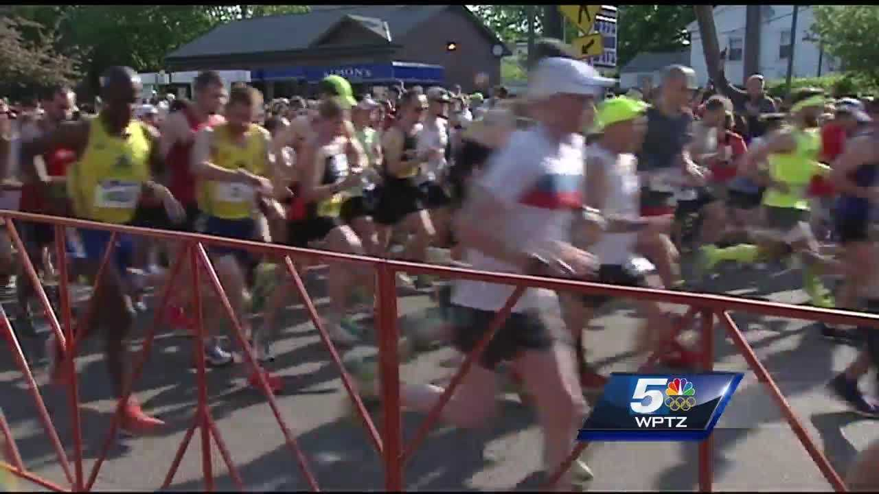A look inside the Vermont City Marathon at one couple who leans on each other as they train for the run.