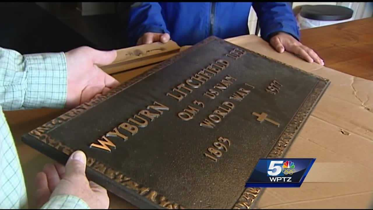 After searching for nearly a decade, Jim Starbuck will be sending the veteran's grave marker he found to its final destination over 200 miles away.