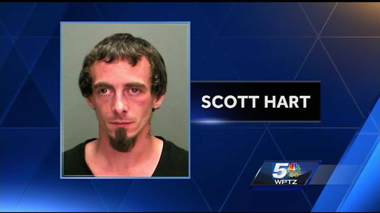 Police say 28-year-old Scott Hart attempted to murder his friend with a sword.