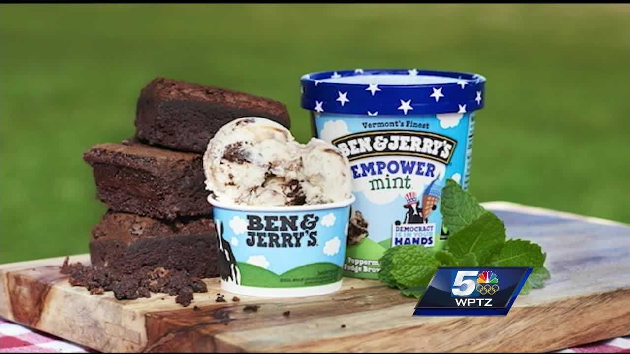Ben & Jerry's unveiled its newest ice cream flavor Tuesday in North Carolina.