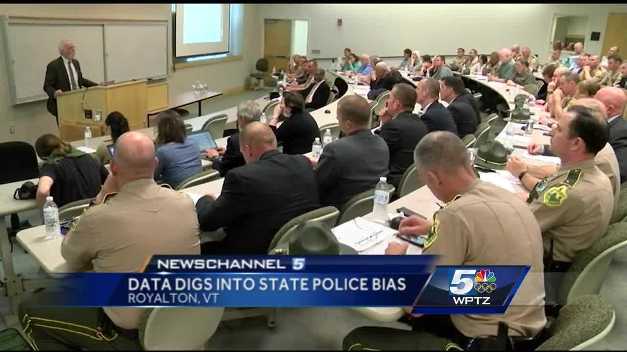 Vermont State Police are taking on the topic of fair and impartial policing with five years of data broken down by barracks and individual troopers.