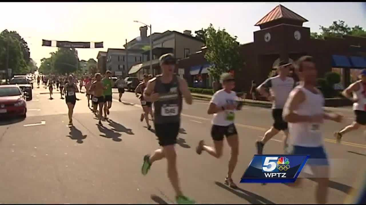 Heat and humidity caused the 28th Vermont City Marathon to be cut short.