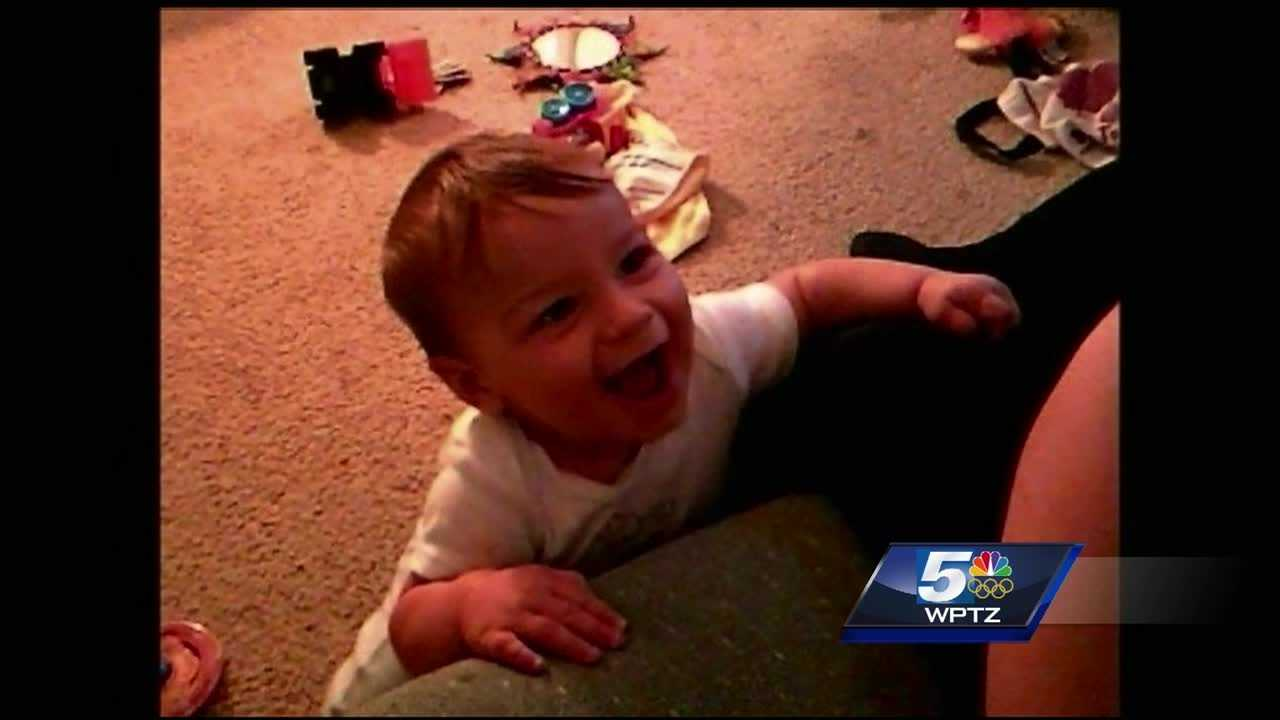 Joshua Blow, 28, of Shelburne, plead no contest to involuntary manslaughter of his then-girlfriend's 2-year-old son, Aiden Haskins, in July 2014.
