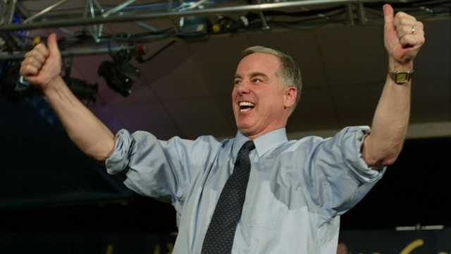 Howard Dean podium