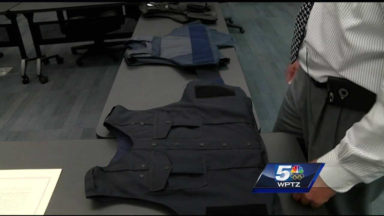 The grant program offsets the purchase price of bulletproof vests for Vermont police officers.