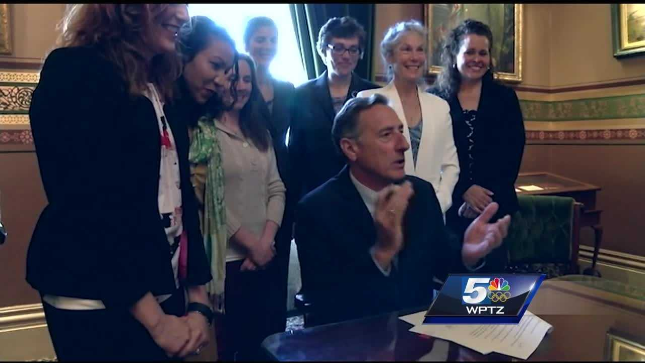 Governor Peter Shumlin has signed a bill that clarifies the definition of stalking.