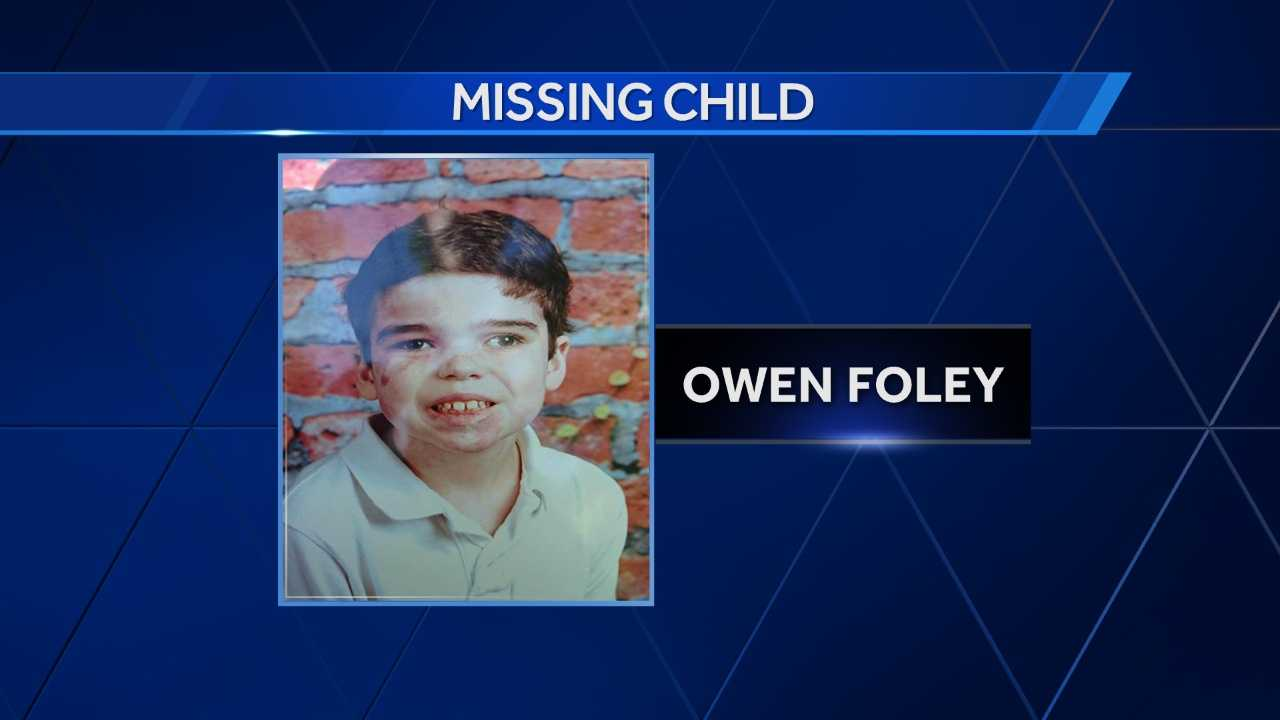 Vermont State Police said Owen Foley went missing from the area of Route 7 and I-89 (Exit 18), and the Ballard Road area.