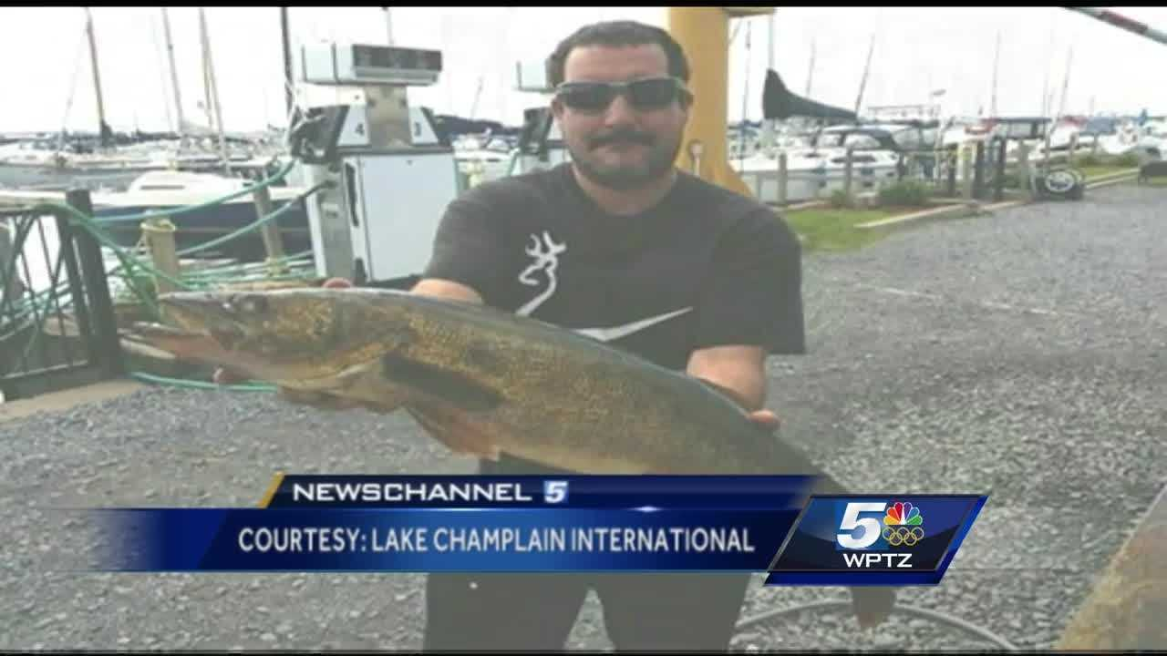 Craig Provost, of Plattsburgh, submitted a 10.26-pound walleye during last year's fishing competition, but investigators say someone else actually caught it.