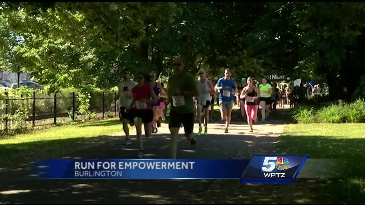 Hundreds came out to Waterfront Park Saturday morning, to participate in Women Helping Battered Women's annual Run for Empowerment.