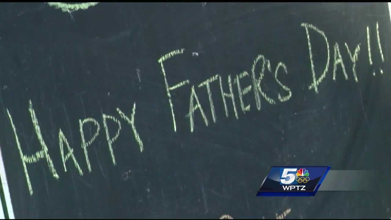 The day means different things to different dads, but this sunny afternoon, first-time fathers and long-time dads alike celebrated on Burlington's Church Street Marketplace.