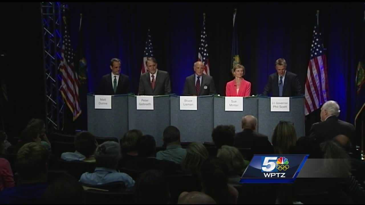 When it comes to healthcare, candidates each highlighted a slightly different angle at the community health gubernatorial forum in Burlington.