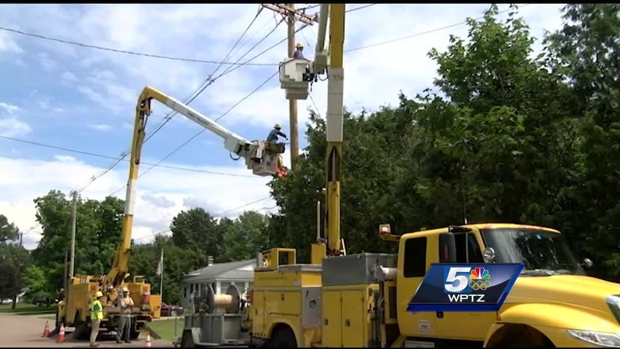 Green Mountain Power employees describe what it's like to respond to outages in a severe storm.