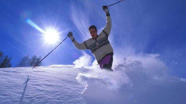 Skiing ski resort slopes