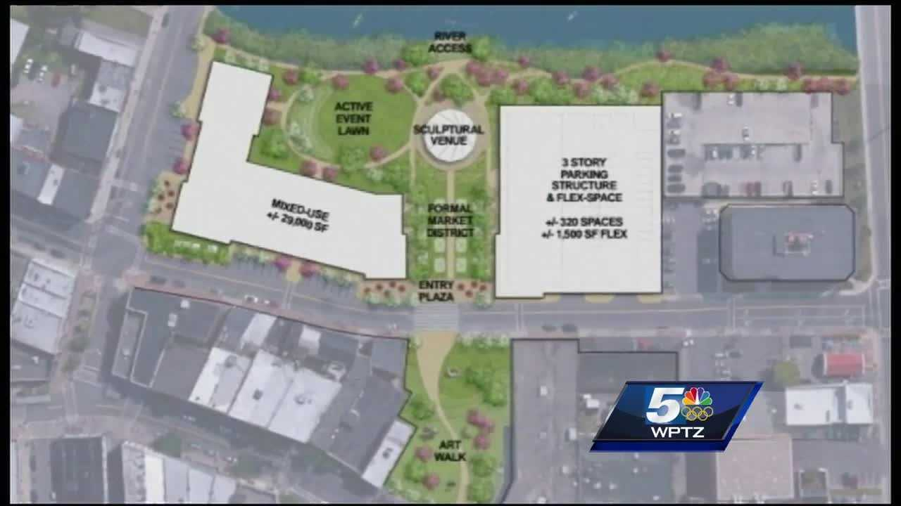 """While city leaders are still on cloud nine after Wednesday's announcement, that Plattsburgh was awarded $10 million for downtown revitalization, Mayor Jim Calnon said one thing's for sure: """"Nothing is set in stone. At this point everything is at concept level."""""""