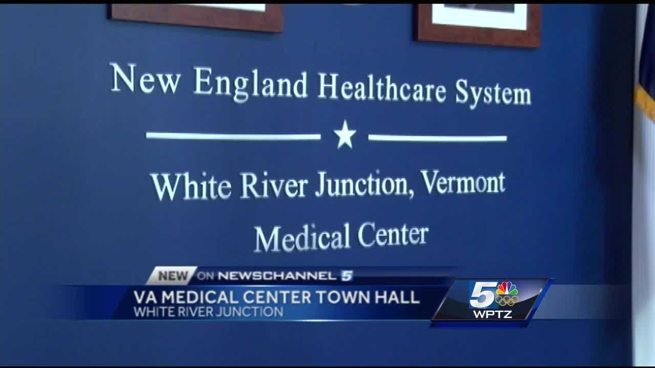 Veterans and VA employees filled the room at the White River Junction VA medical center Monday afternoon.  It was all to hear what work is being done to make the facility better.