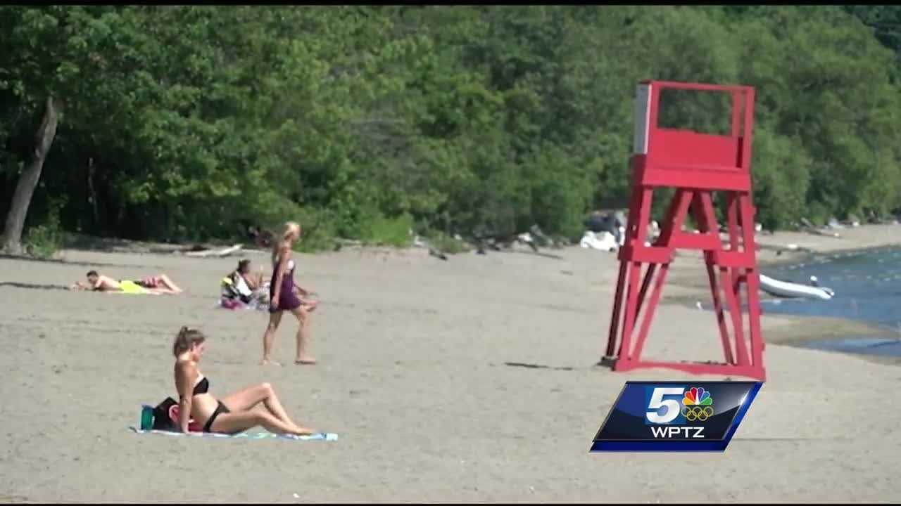 Two Burlington beaches are closed to swimming after tests showed signs of blue green algae.