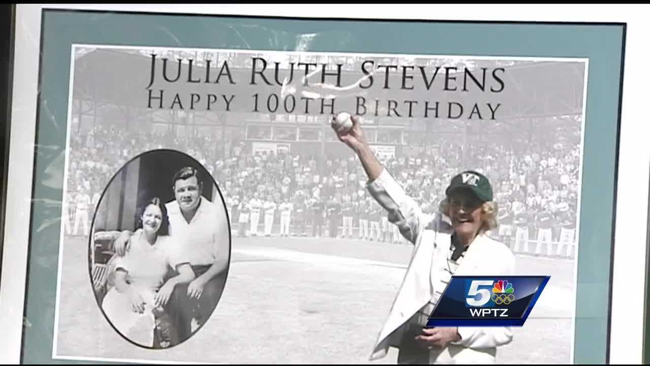 Babe Ruth's daughter visits VT