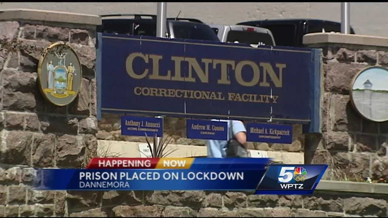 Clinton Correctional Facility has been placed on full lockdown after an incident in the prison yard.