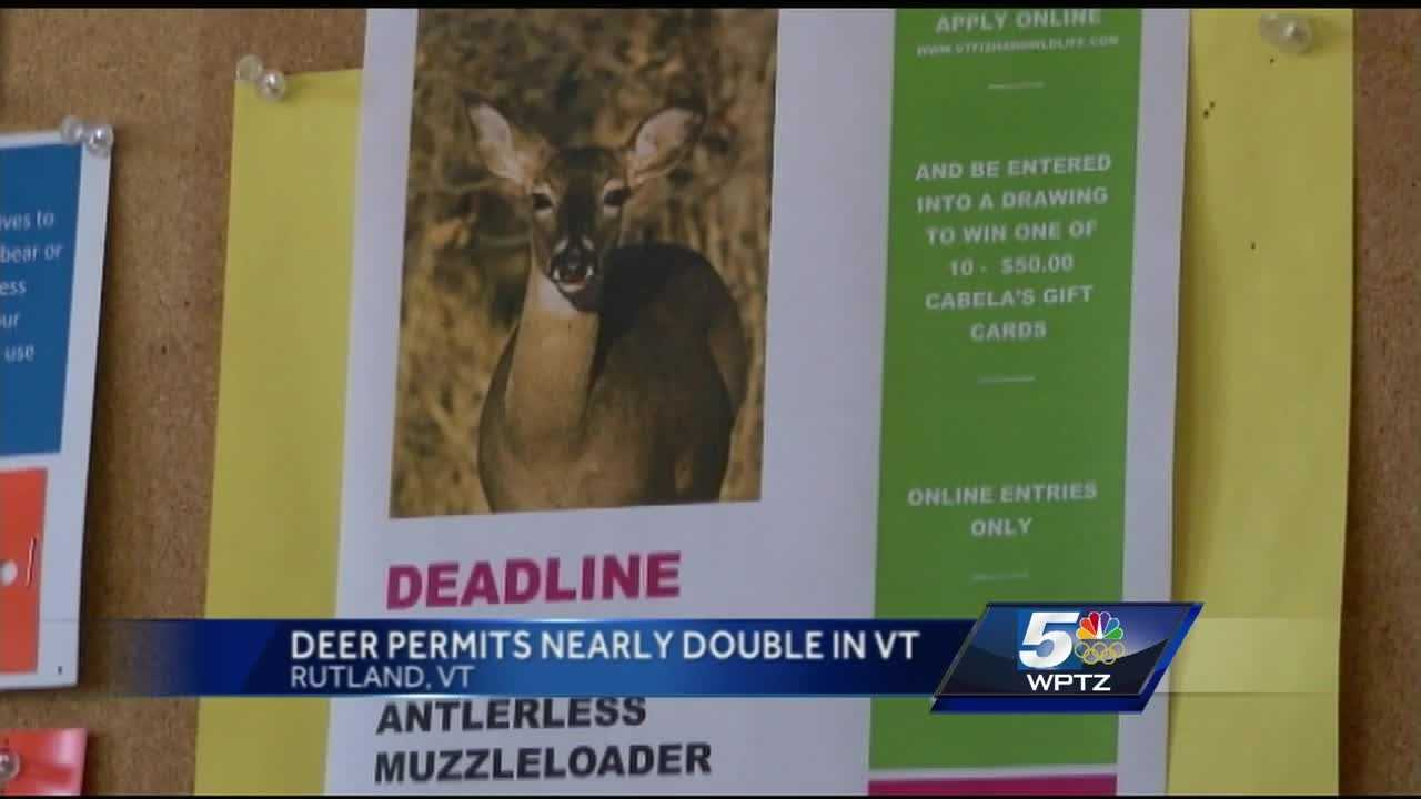 Vermont wildlife officials say there's been an explosion of the deer population and it's taking steps to thin the herd.