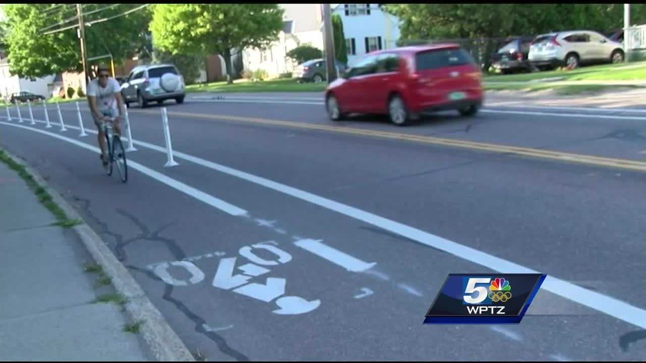 Neighbors in Burlington's Wards 4 and 7 gathered Wednesday evening to learn about the latest updates to the North Avenue pilot program and to share their thoughts about the new bike lanes.