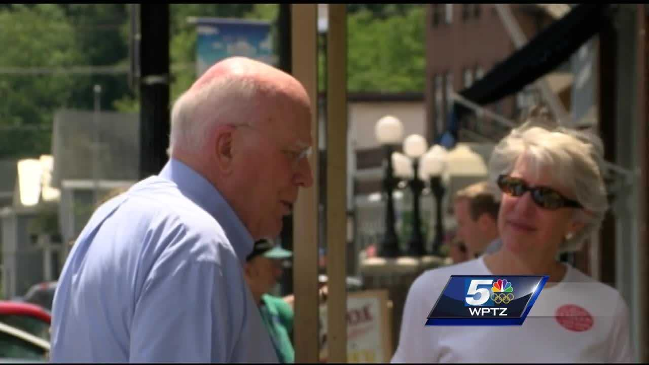Vermont senator Patrick Leahy launched his 14 county tour this week.  He's speaking with communities all over Vermont as part of his bid for reelection.