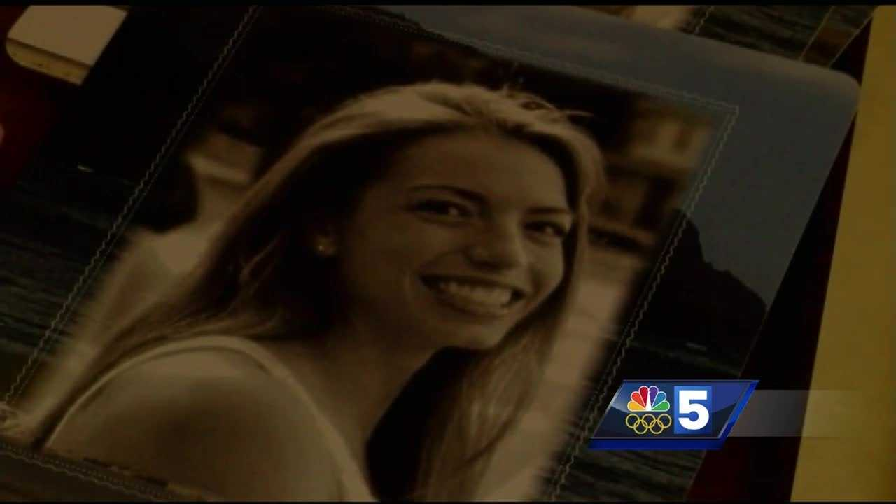 Allison Warmuth was 28 years old when she was killed in April. A Boston duck boat collided with her motor scooter. Friends and family from her former church in Plattsburgh, New York came together Thursday to honor her memory.