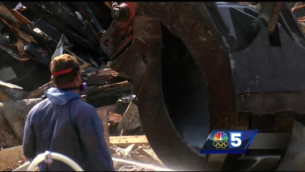 Plattsburgh home demolished two months after fatal fire