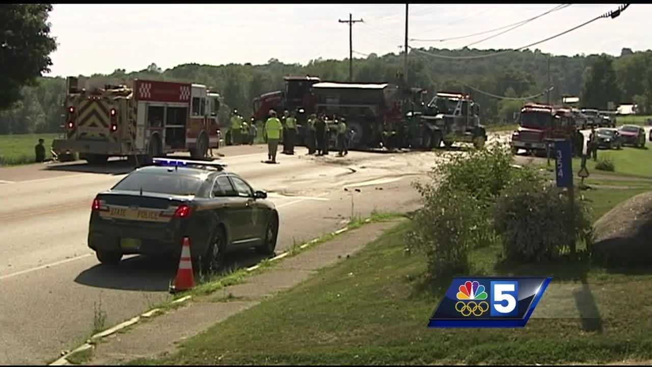 U.S. Route 2 in South Hero is back open after a fatal car crash.