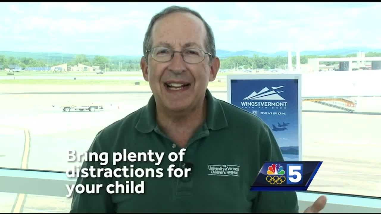 Dr. First offers tips to help children overcome a fear of flying.