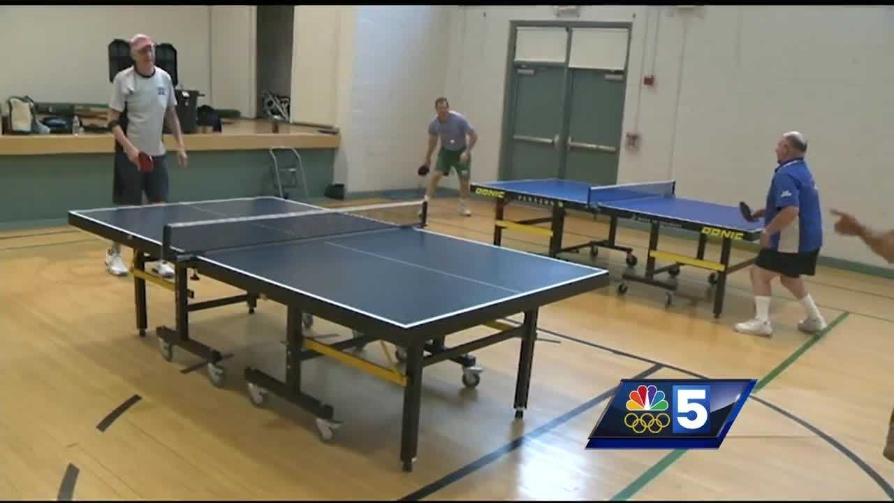NBC5's Abby Isaacs and Rachel Karcz learn a thing or two about the Olympic sport of table tennis.