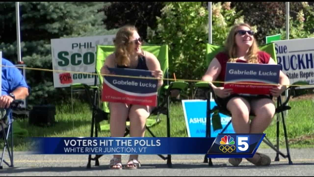 Upper Valley voters made their voices heard Monday morning, with some expressing their feelings about the election, and why they came out to cast their ballots.