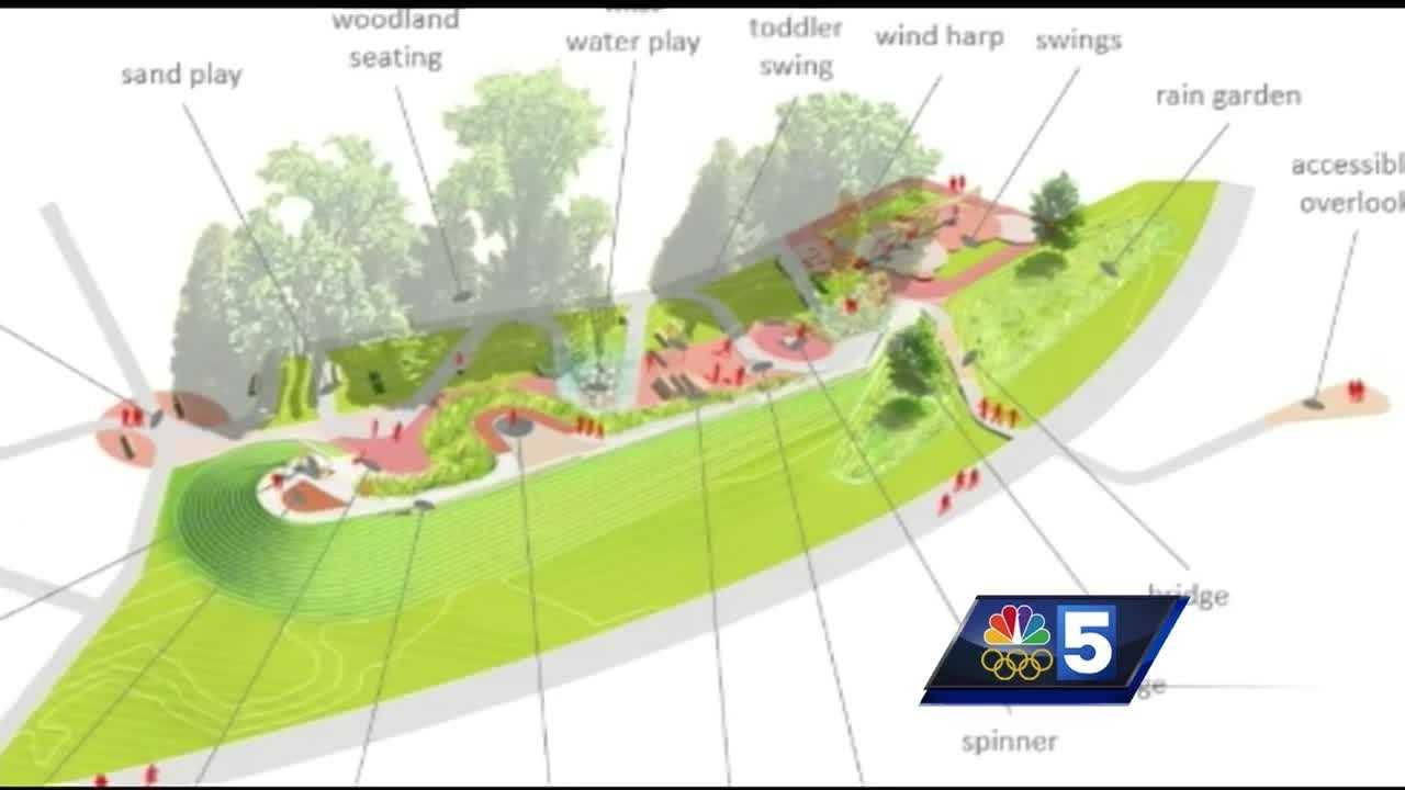 Burlington Parks and Recreation teamed up with advocacy group P.E.A.S.E. to begin designs for an accessible playground at Oakledge Park.