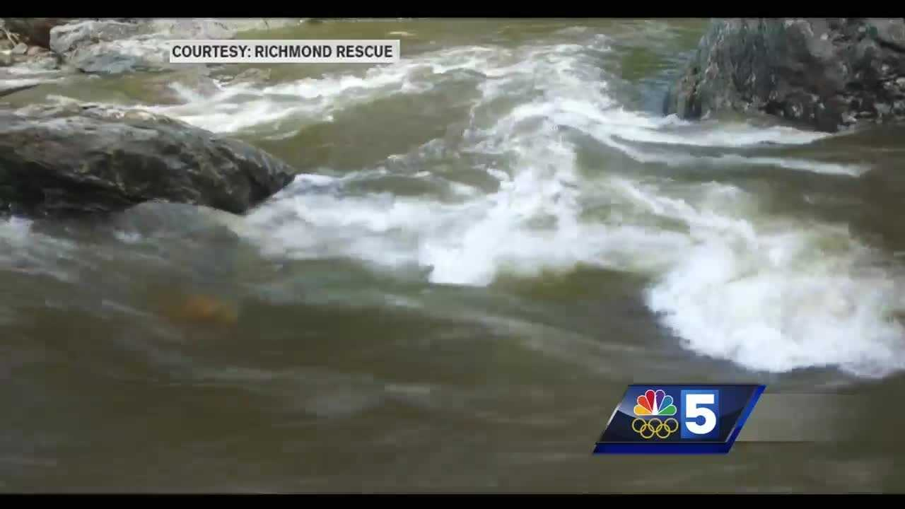 A Vermont rescue squad hopes new drone footage will alert people to risks inside the Huntington Gorge, a natural swimming hole with hidden dangers and a long list of victims.