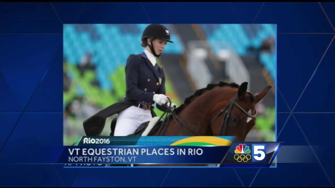 "One Fayston Vemont native is sure to become a well-known name in the state.   On Friday, Laura Graves and her horse Verdadas, which she calls ""Diddy,""  led the U.S. dressage team to a bronze medal finish in the Grand Prix Special."