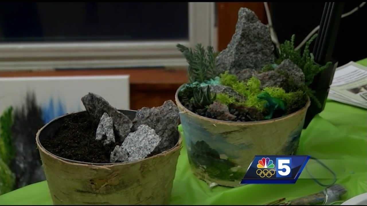 Social Plant Nite's are becoming more popular, organizers say in part because of its relaxing nature.