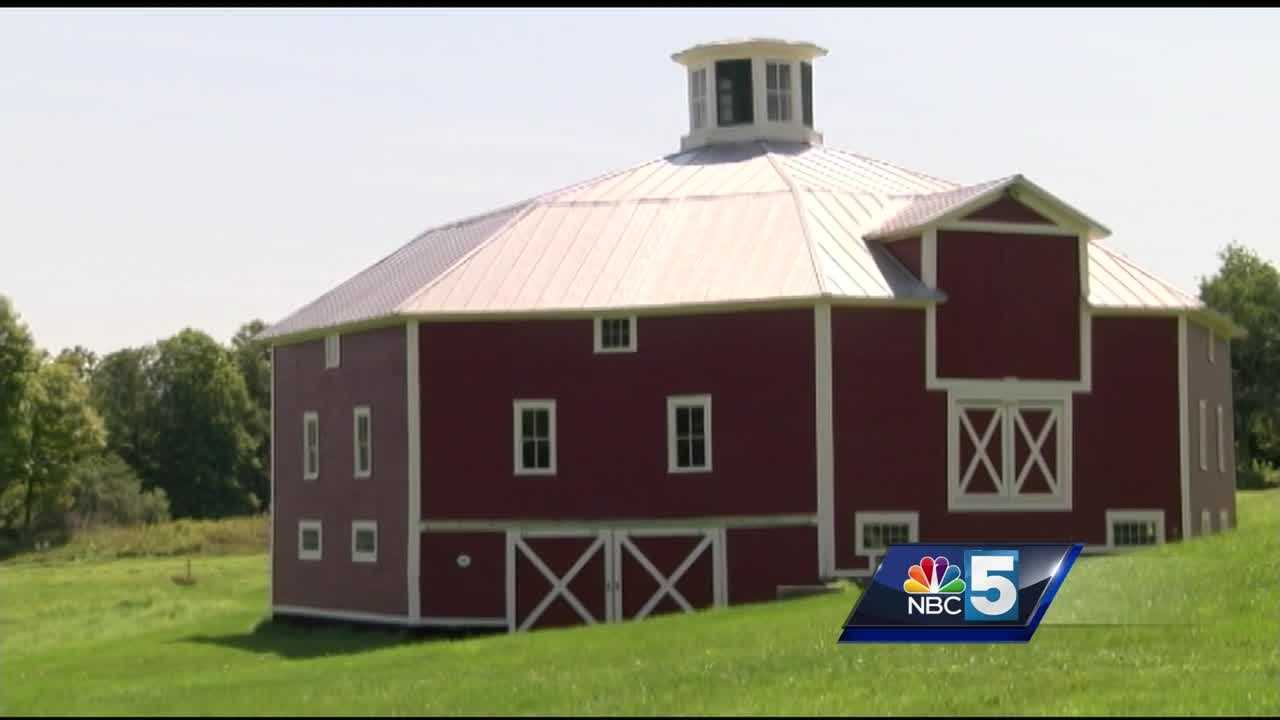 One historian is speaking out about the importance of preserving round barns in Vermont.  One of them burned to the ground in Irasburg Tuesday, leaving only a few left in the state.