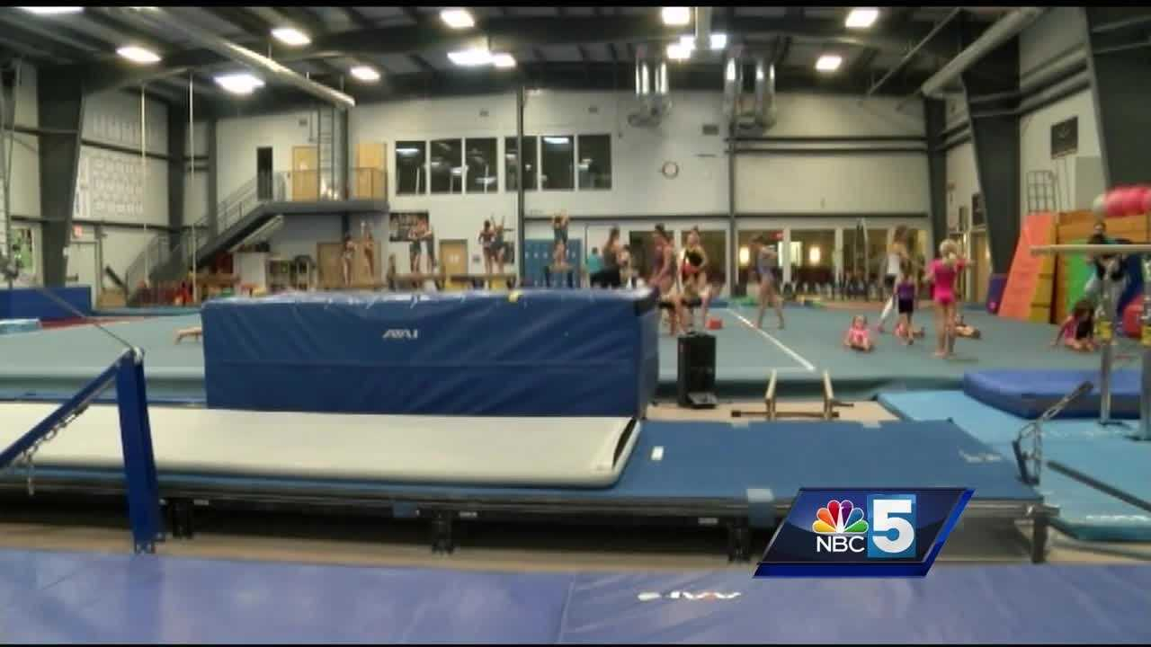 After a golden year for the U.S. Women's Gymnastics team, a Vermont gym is feeling a bounce in enrollment.