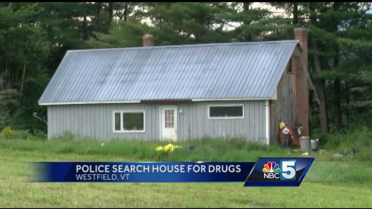 Vermont State Police said the materials were found while investigators conducted a search at a home in the 500 block of Cemetery Road.