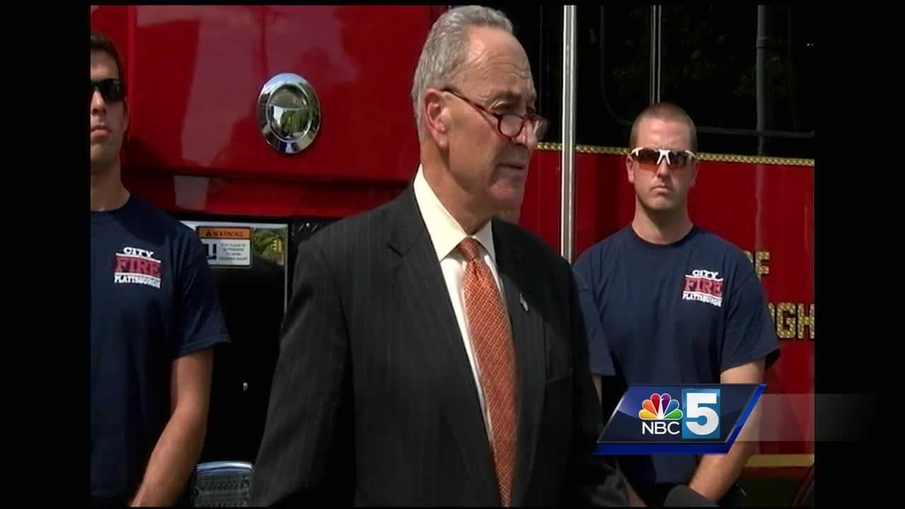 New York Sen. Chuck Schumer is proposing new legislation that aims to help firefighters diagnosed with cancer.
