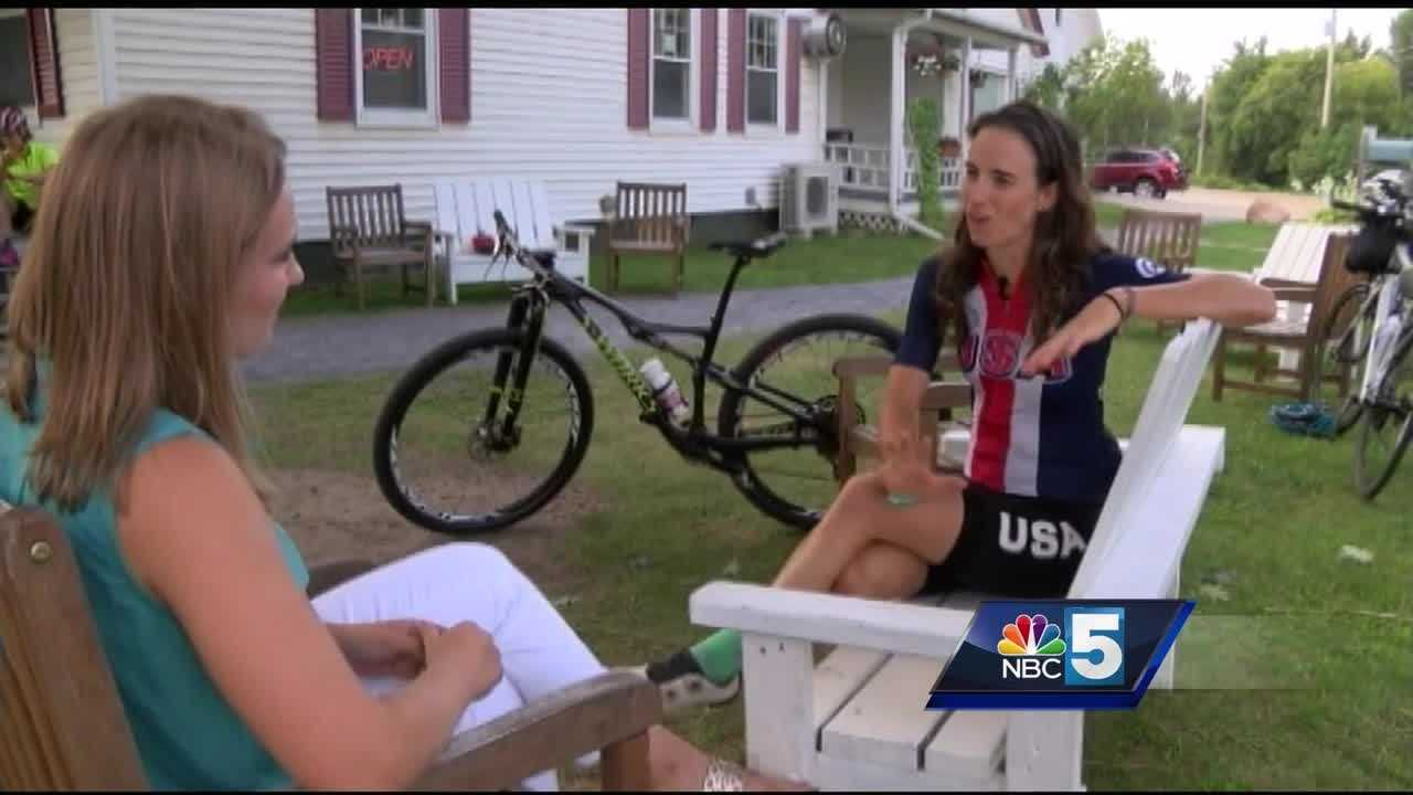 Jericho native and Olympian Lea Davison  is back in Vermont after the Rio games, already looking forward to the next challenge- World Cup finals.