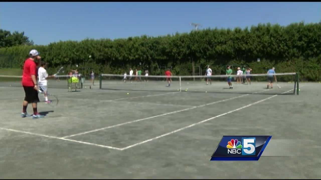Burlington Tennis Club won a grand slam, raising $50,000 for King Street Center in Burlington.
