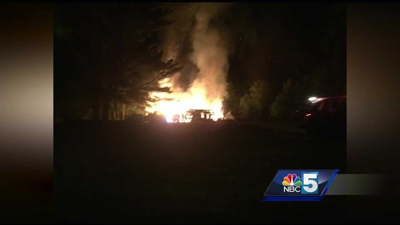 Officials at the Essex County Emergency Services said the homestead and barn are a total loss.
