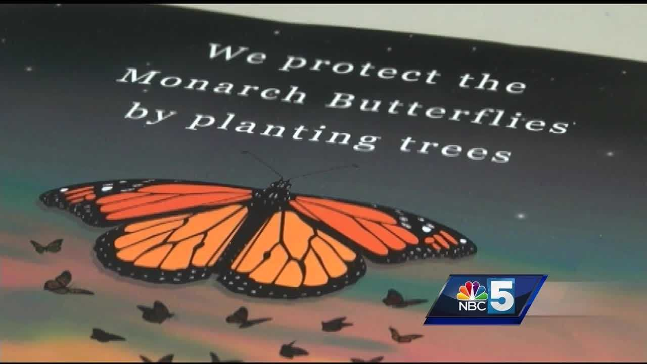 The ECHO Leahy Center for Lake Champlain played host to a colorful demonstration Tuesday, to raise awareness for the decline of the monarch butterfly.