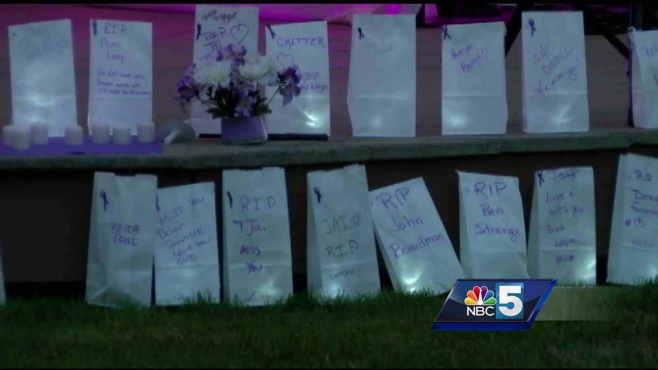 On Wednesday, White River Junction held its first ever candle light vigil for International Overdose Awareness Day.  Organizers say the idea came after hearing about a number of recent overdoses in the Hartford area.