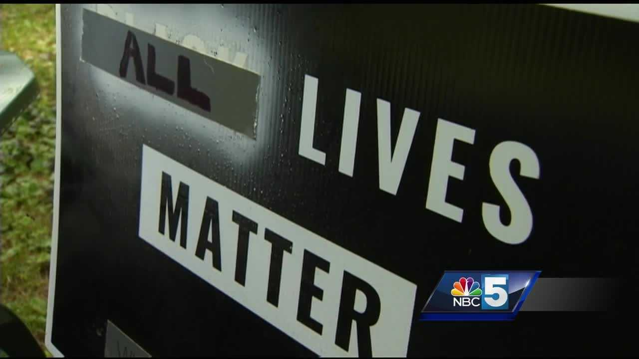 A Vermont history museum repeatedly targeted by thieves pilfering its Black Lives Matter signs is finding a bit of encouragement following an unrelated case of sign vandalism.