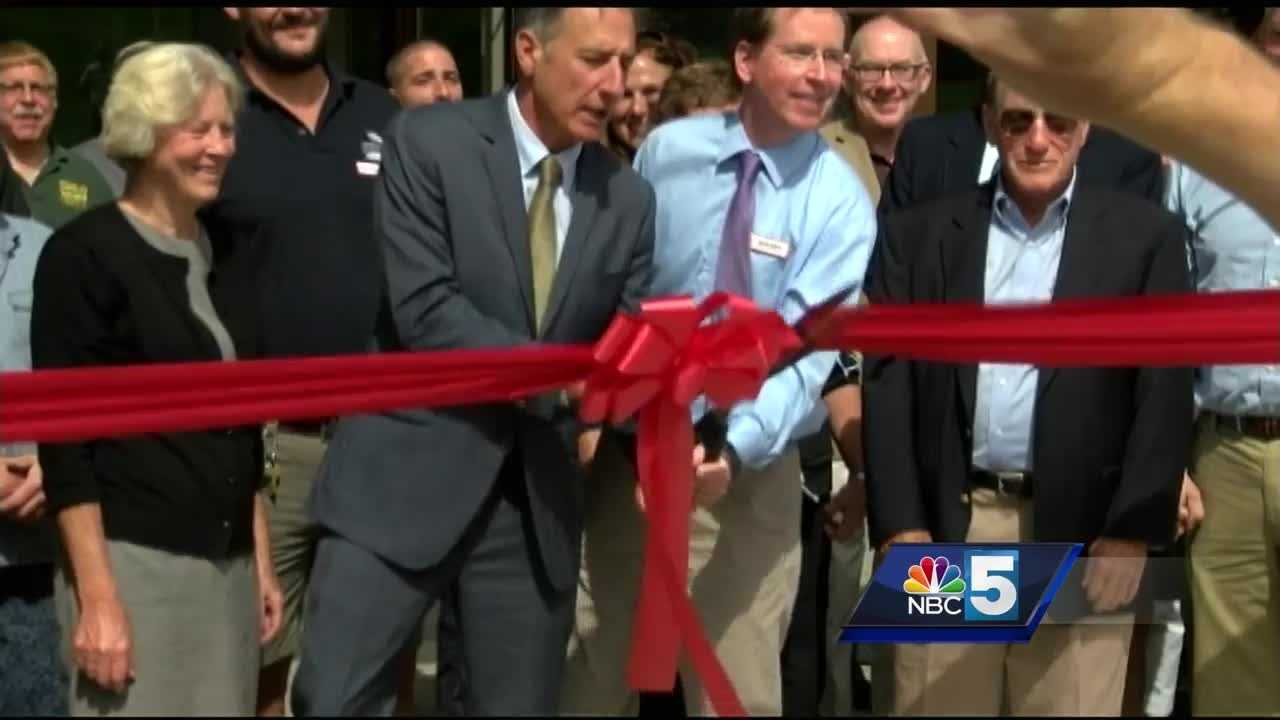 One of the projects at the center of an EB-5 investigation is officially open for business.Gov. Shumlin, community members and hotel staff were among those who attended the Burke Mountain Hotel and Conference Center's ribbon cutting.  While addressing the crowd, Shumlin called it the most exciting ribbon cutting he's done as governor.
