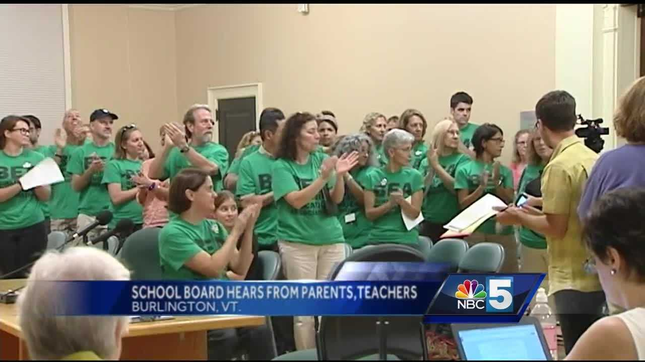 Board members say if the school board accepted the current salary proposal from the teacher's union it would require about $900,000 in additional budget cuts.